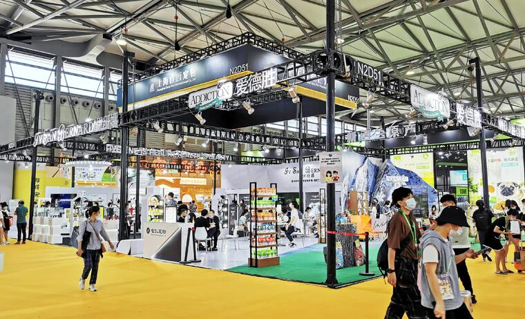 上海展台搭建中色彩该如何搭配?