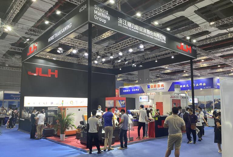 上海机床展会搭建案例