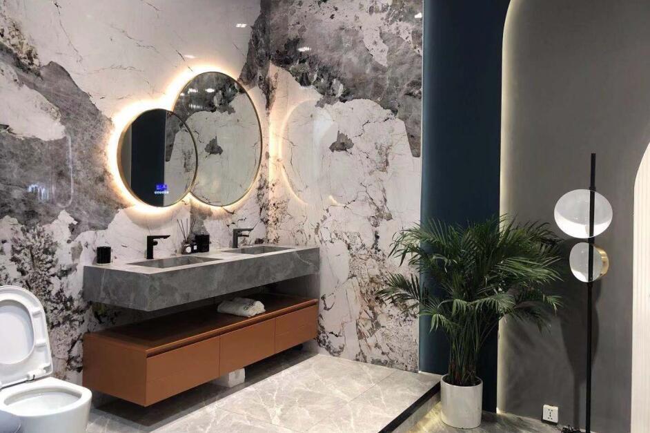 上海卫浴展位布置案例