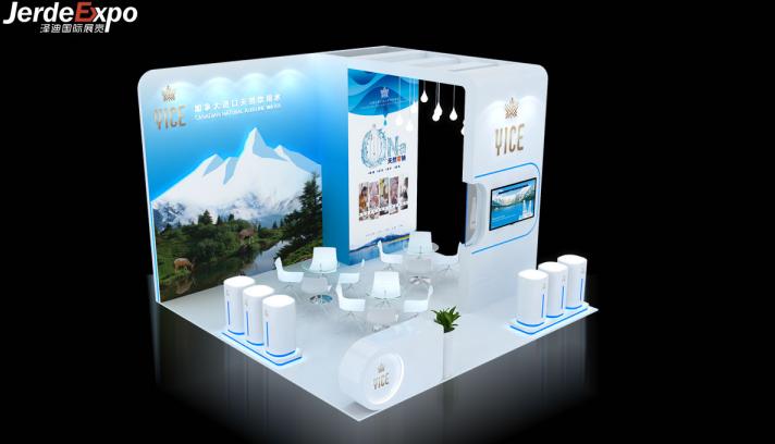 上海水处理展台搭建